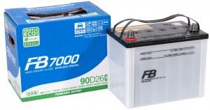 Автомобильный аккумулятор FB7000 90D26L 750А обратная полярность 73 Ач (257x170x225) фото