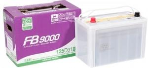 Автомобильный аккумулятор FB9000 125D31R 870А прямая полярность 92 Ач (304x171x225) фото