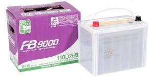 Автомобильный аккумулятор FB9000 110D26R 760А прямая полярность 80 Ач (261x173x225) фото
