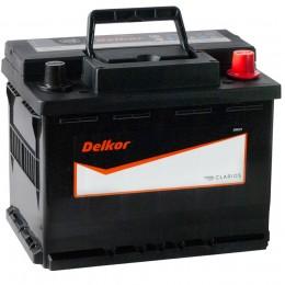 Автомобильный аккумулятор DELKOR 65R (56513) 640А обратная полярность 65 Ач (241x174x188) фото