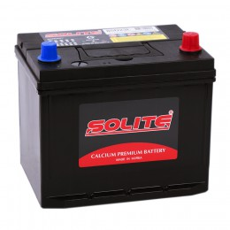 Автомобильный аккумулятор SOLITE 70R (85D23LBS) 580А обратная полярность 70 Ач (230x172x204) фото