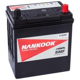 Автомобильный аккумулятор HANKOOK 40R (44B19L) 370А обратная полярность 40 Ач (186x126x225) фото
