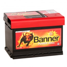 BANNER Power Bull 60R (60 09) низкий 540А обратная полярность 60 Ач (242x175x175)