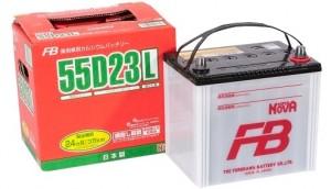 FB SUPER NOVA 55D23L 550А обратная полярность 60 Ач (230x169x225)