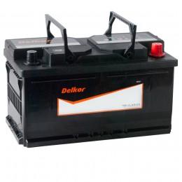 Автомобильный аккумулятор DELKOR 80R (58039) 730А обратная полярность 80 Ач (315x175x175) фото