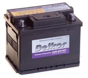 DELKOR AGM 60R  680А Обратная полярность 60 Ач (242x175x190)