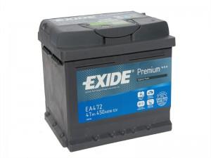 EXIDE Premium 47R EA472 450A 207х175х175