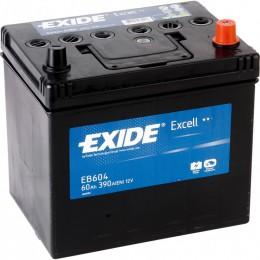 EXIDE Excell 60R EB604 390A 230х172х220