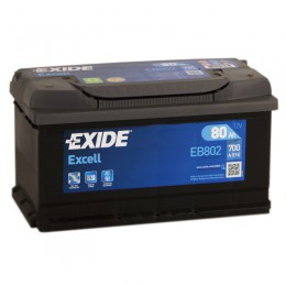 EXIDE Excell 80R EB802 700A 315х175х175