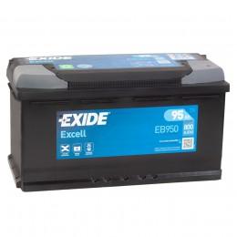 EXIDE Excell EB950 (95R) 800А обратная полярность 95 Ач (353x175x190)