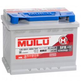 Автомобильный аккумулятор MUTLU Mega Calcium 60L 540А прямая полярность 60 Ач (246x175x190) фото