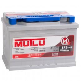 Автомобильный аккумулятор MUTLU Mega Calcium 75L 720А прямая полярность 75 Ач (278x175x190) фото