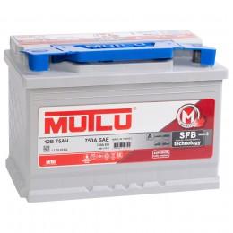 MUTLU Mega Calcium 75R 720А обратная полярность 75 Ач (278x175x190)