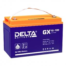 Delta GX 12-100 900А универсальная полярность 100 Ач (330x171x220)