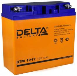 Аккумулятор для ИБП Delta DTM 1217 225А универсальная полярность 17 Ач (181x77x167) фото