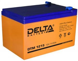 Delta DTM 1215 165А универсальная полярность 15 Ач (151x98x98)