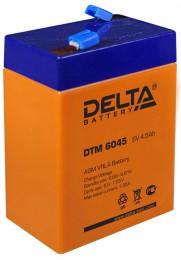 Delta DTM 6045 67А универсальная полярность 4 Ач (70x47x107)