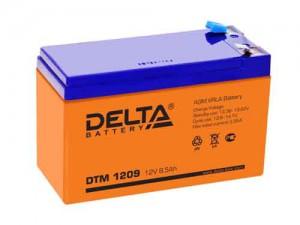 Аккумулятор для ИБП Delta DTM 1209 100А универсальная полярность 9 Ач (151x65x94) фото