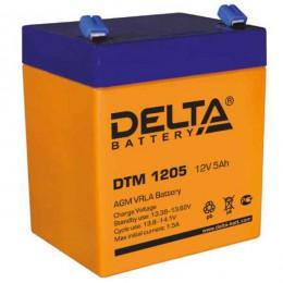 Аккумулятор для ИБП Delta DTM 1205 75А универсальная полярность 5 Ач (90x70x101) фото