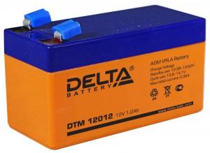 Аккумулятор для ИБП Delta DTM 12012 18А универсальная полярность 2 Ач (97x43x52) фото