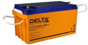 Аккумулятор для ИБП Delta DTM 1265 L 650А универсальная полярность 65 Ач (350x167x179) фото