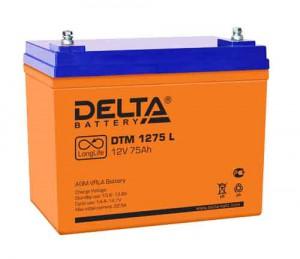 Delta DTM 1275 L 700А универсальная полярность 75 Ач (258x166x206)