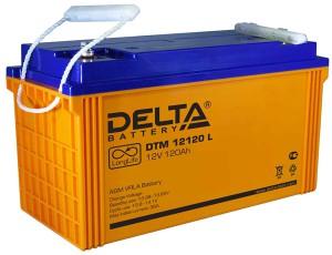 Delta DTM 12120 L 950А универсальная полярность 120 Ач (410x176x224)