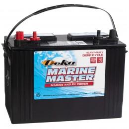 Аккумулятор лодочный DEKA MARINE DC27 DT (стартерный глубокого разряда) 575А прямая полярность 105 Ач (300x171x236) фото