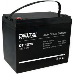 Аккумулятор для ИБП Delta DT 1275 870А прямая полярность 75 Ач (259x169x213) фото