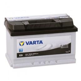 Автомобильный аккумулятор VARTA Black E9 (70R) 640А обратная полярность 70 Ач (278x175x175) фото