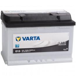 Автомобильный аккумулятор VARTA Black E13 (70R) 640А обратная полярность 70 Ач (278x175x190) фото