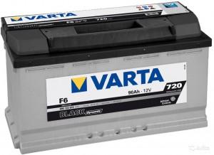 VARTA Black F6 90R 720A 353x175x190