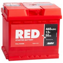 Автомобильный аккумулятор RED 50R 460А обратная полярность 50 Ач (207x175x190) фото