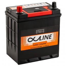 Автомобильный аккумулятор AlphaLINE 44L (46B19R) 400А прямая полярность 44 Ач (186x126x225) фото