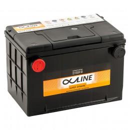 Автомобильный аккумулятор AlphaLINE 78-750 (85L) 750А прямая полярность 85 Ач (268x178x184) фото