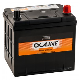AlphaLINE 58R (26R-550)  550А обратная полярность 58 Ач (206x172x184)