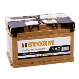STORM GOLD 78R (низкий) 750A 278x175x175