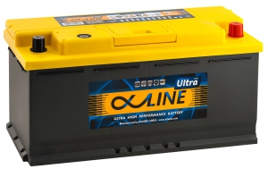 AlphaLINE Ultra 110R 1000А обратная полярность 110 Ач (393x175x190)