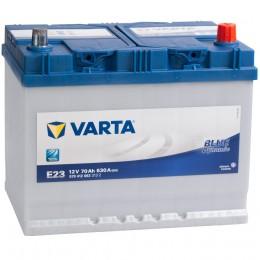 VARTA Blue E23 (70R) 630А обратная полярность 70 Ач (261x175x220)