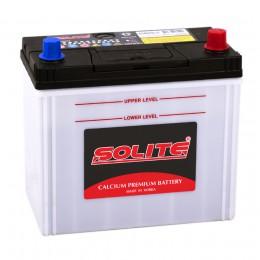 Автомобильный аккумулятор SOLITE 65B24LS (стандартные клеммы) 470А обратная полярность 50 Ач (236x128x220) фото