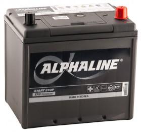 AlphaLINE EFB 65R (90D23L)  670А обратная полярность 65 Ач (230x168x220)