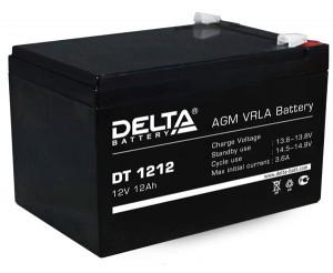Аккумулятор для ИБП Delta DT 1212 универсальная полярность 12 Ач (151x98x101) фото