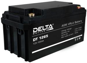 Delta DT 1265 универсальная полярность 65 Ач (350x167x179)