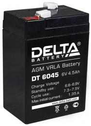 Аккумулятор для ИБП Delta DT 6045 универсальная полярность 5 Ач (70x47x107) фото