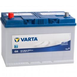 Автомобильный аккумулятор VARTA Blue G8 (95L) 830А прямая полярность 95 Ач (306x173x225) фото
