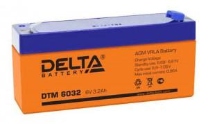 Delta DTM 6032 универсальная полярность 4 Ач (134x34x67)
