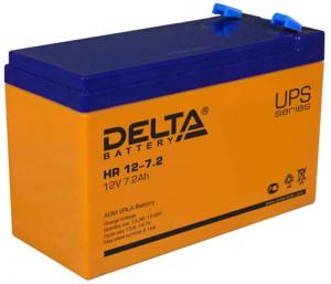 Delta HR 12-7.2 универсальная полярность 8 Ач (151x65x100)