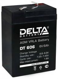 Аккумулятор для ИБП Delta DT 606 универсальная полярность 6 Ач (70x47x107) фото
