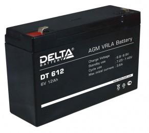 Delta DT 612 универсальная полярность 12 Ач (151x94x100)