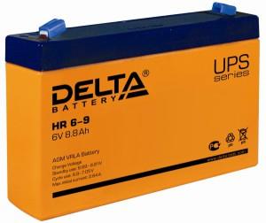 Delta HR 6-9 универсальная полярность 9 Ач (151x34x94)